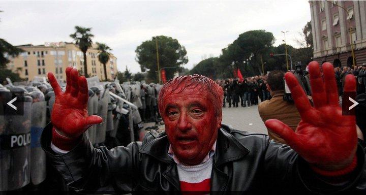 Demostrata Ne Shqiperi. Tiranën – Demostrata e 21