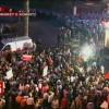 Policia: Protesta e PS e kundraligjshme, 5 policë u lënduan
