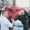 Digjet flamuri shqiptar në Shkup nga maqedonasit