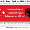 Tiranë: Mbeturinat e pushtuesve osman ripërtërihen në mbështetje të Erdoganit