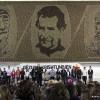 """""""Mozaiku i vlerave"""" i artistit kosovar Don Domenik Qerimi regjistrohet në Librin e Ginesit"""