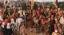 """Historia e pikturës së Mikelit nga Verona""""Kryqëzimi""""( Crocifissione di Michele da Verona)"""
